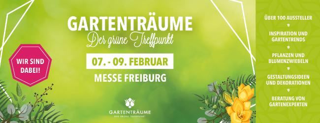 Gartenträume Freiburg 2020