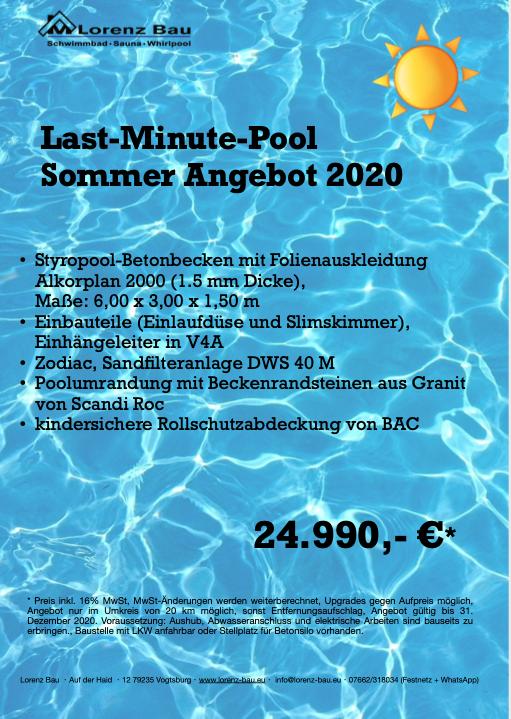 Last Minute Pool